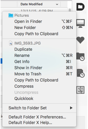 default folder 5 utilities menu