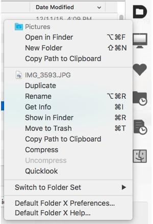 default folder 5 utilities menu