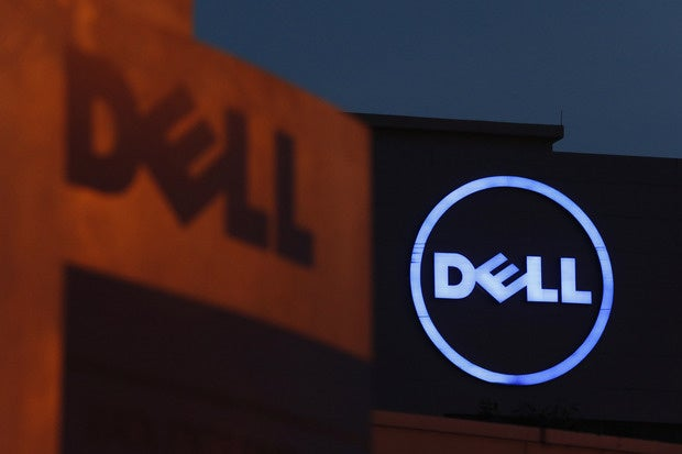 Dell EMC merger loans stock price VMware
