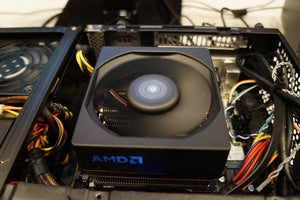 AMD Wraith cooler in system