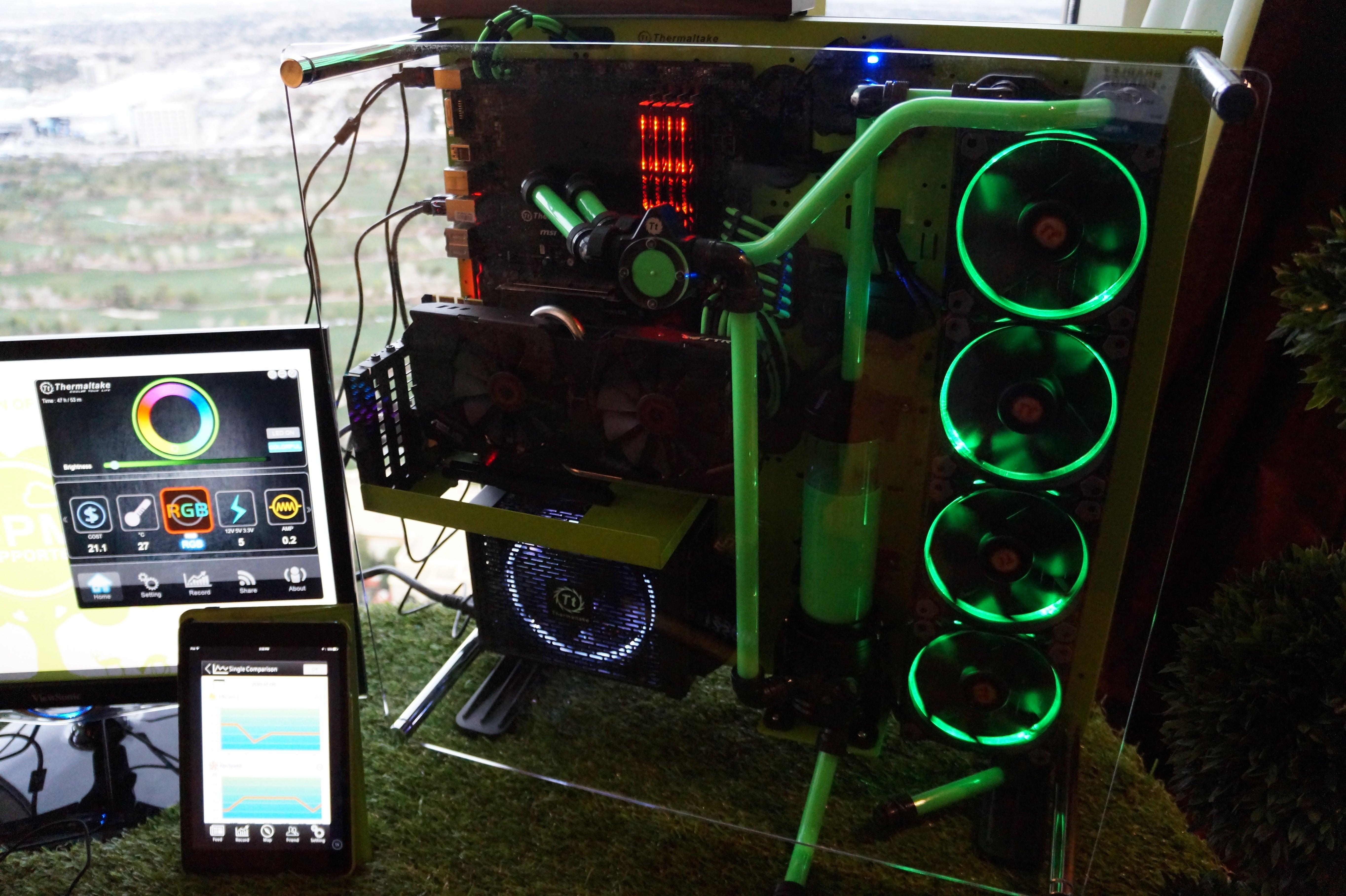 Smart Liquid Cooled Rgb Lit Pc Power Supplies Prove Psu