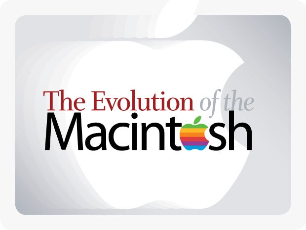 The Evolution of the Macintosh [slideshow cover]