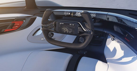 faraday future ffzero1 concept variable platform architecture interior 2 ces 2016