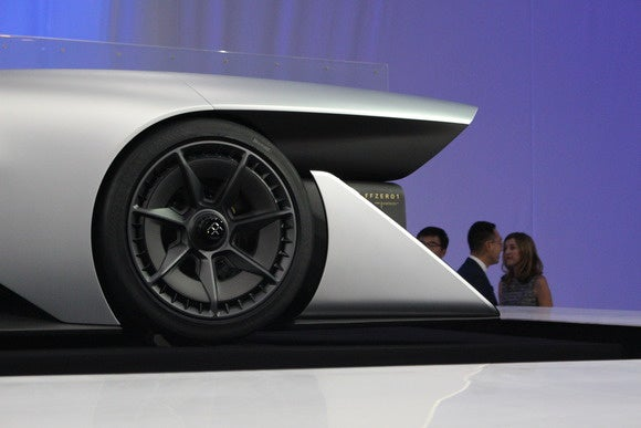 faraday future ffzero1 side detail ces 2016