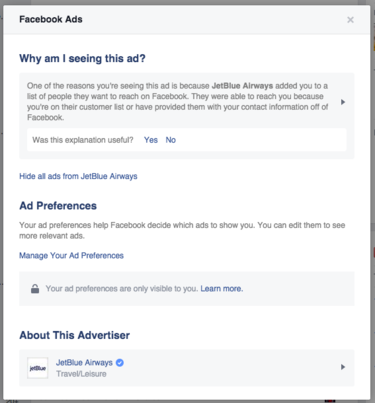 facebook ad preferences - 3