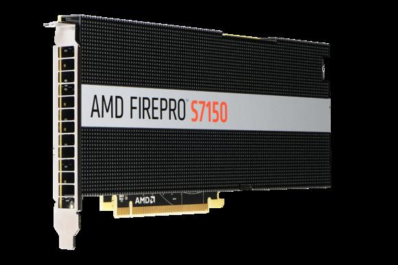 AMD's FirePro S710x2 server GPU