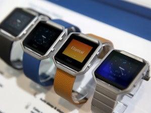 fitbit blaze smartwatches smartwatch ces 2016
