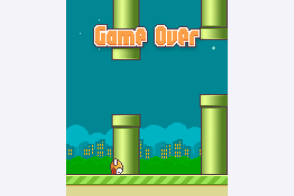 flappy bird slide