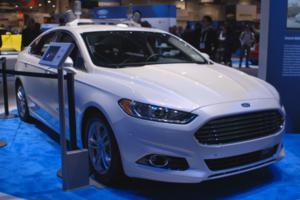 ford fusion autonomous research vehicle