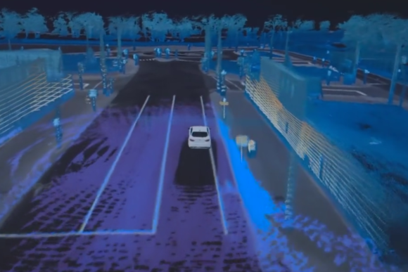 ford fusion autonomous research vehicle velodyne lidar map