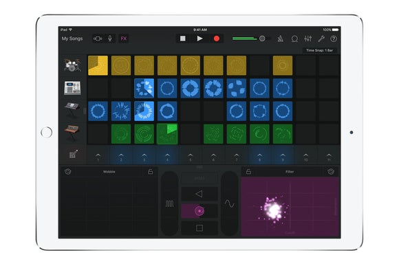 garageband for ios live loops ipad 2