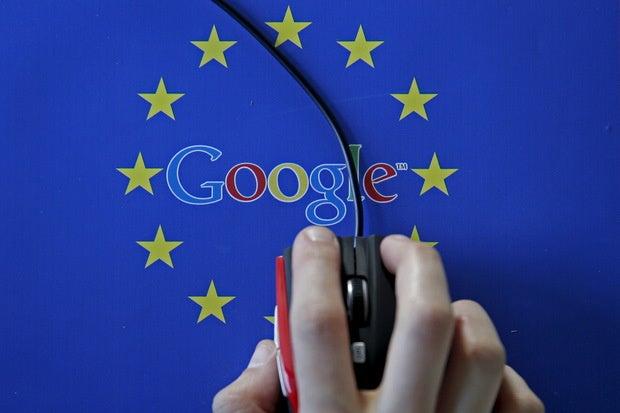 google logo stars mouse