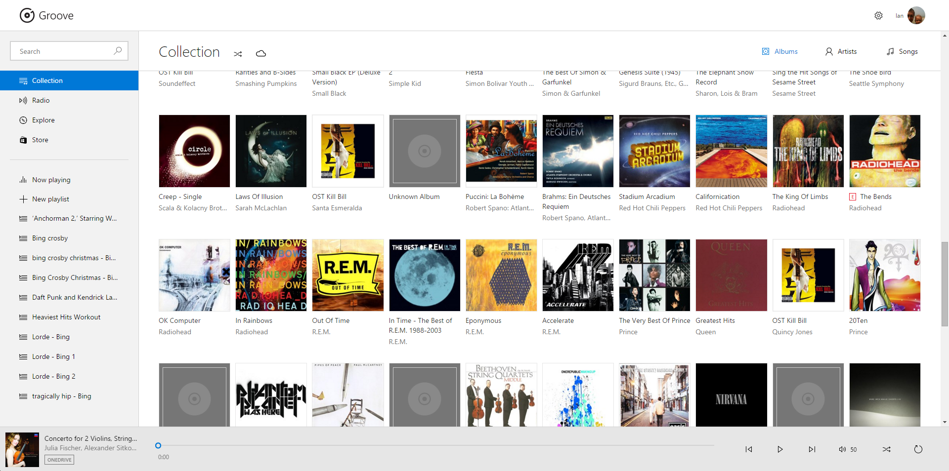 How to use Microsoft's OneDrive and Groove for music