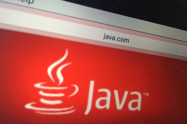 Java logo browser