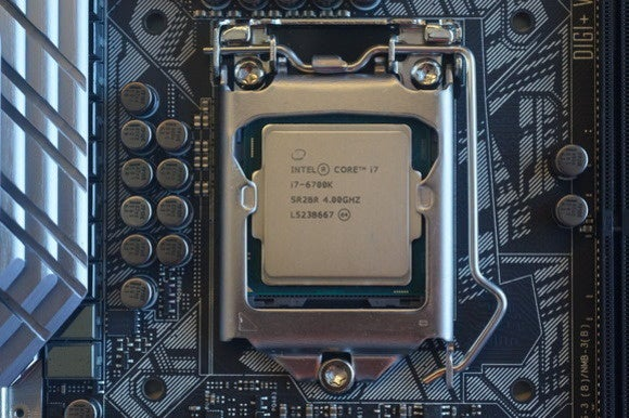 intel skylake core i7 6700k