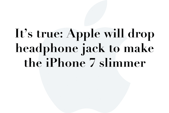 iphone 7 no headhone jack