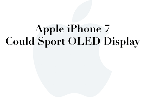 iphone 7 oled rumor