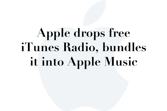 itunes radio drop