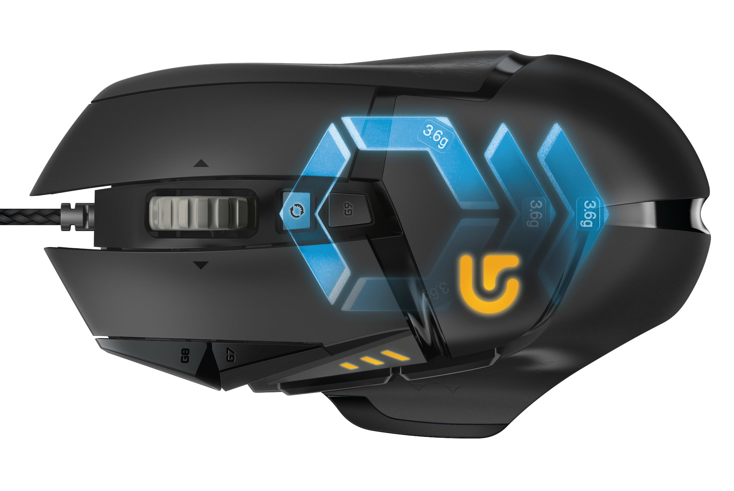 aaed601c2a2 Logitech overhauls the excellent G502 Proteus Core mouse with RGB lighting