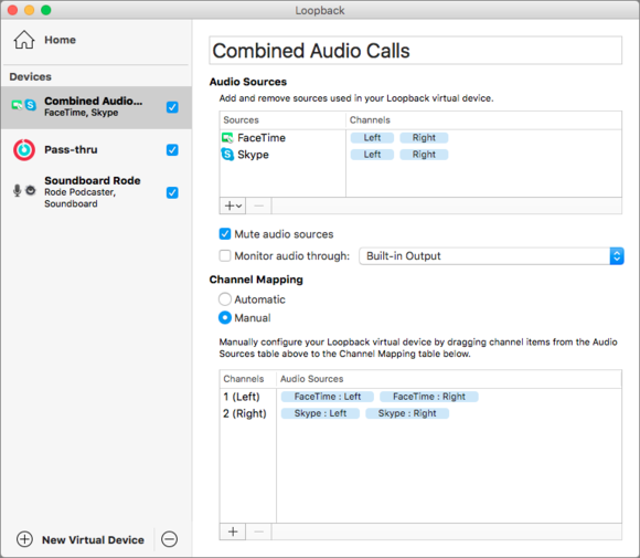 Loopback review: An easy way to route your Mac's audio to your