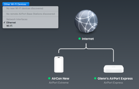 mac 911 airport interface