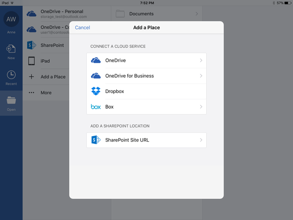 new cloud storage options for office mobile and office online 2