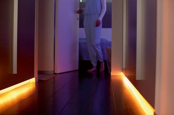 philips lightstrip hallway