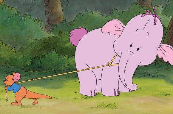 Pooh\'s Huffalump Movie