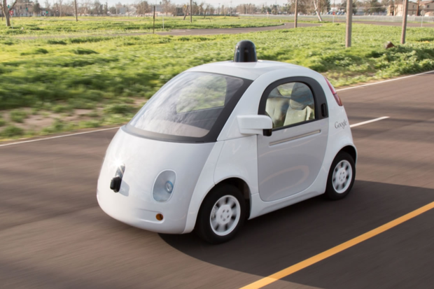 Google autonomous self-driving pod car