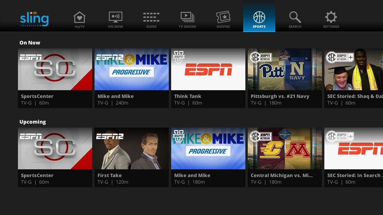 Sling TV's menu system gets the makeover it deserves   TechHive