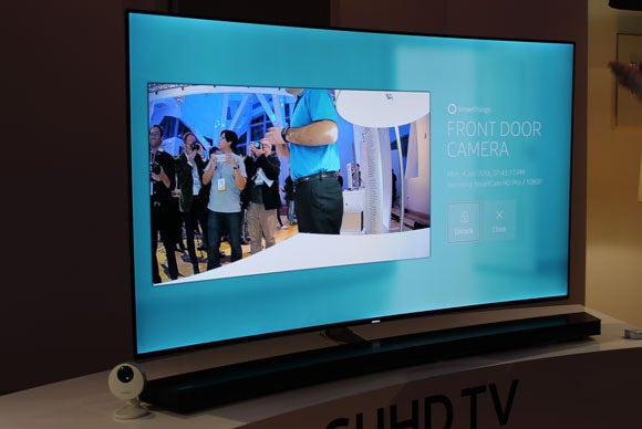 smartthings on tv