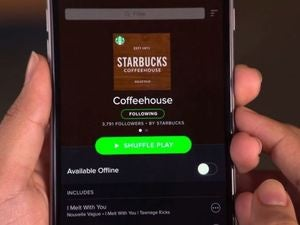 starbucks app spotify