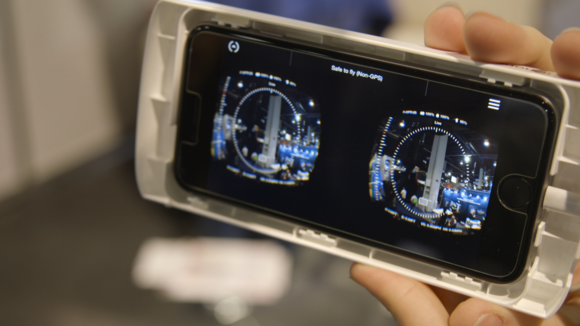 Zeiss offers a drone's eye view with VR app and headset