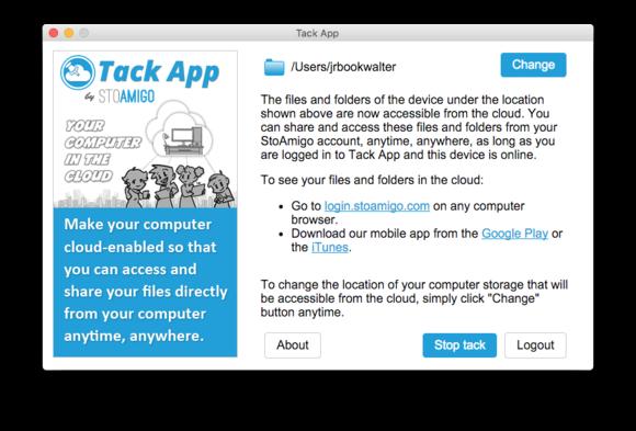 tack app settings