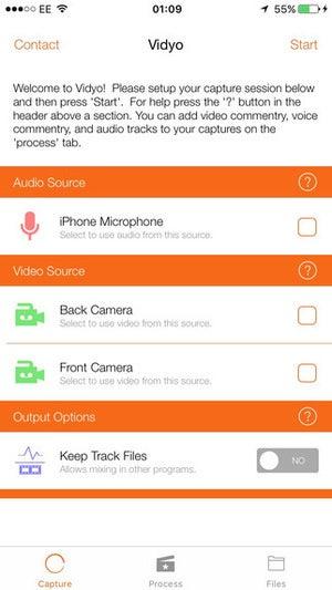 vidyo screen recording app