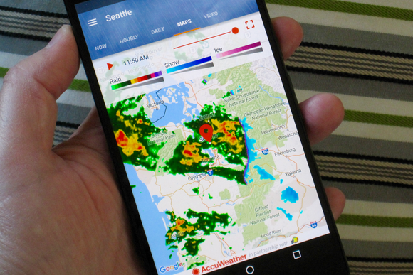 weather apps android