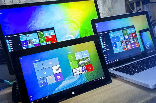 windows 10 devices laptops tablets