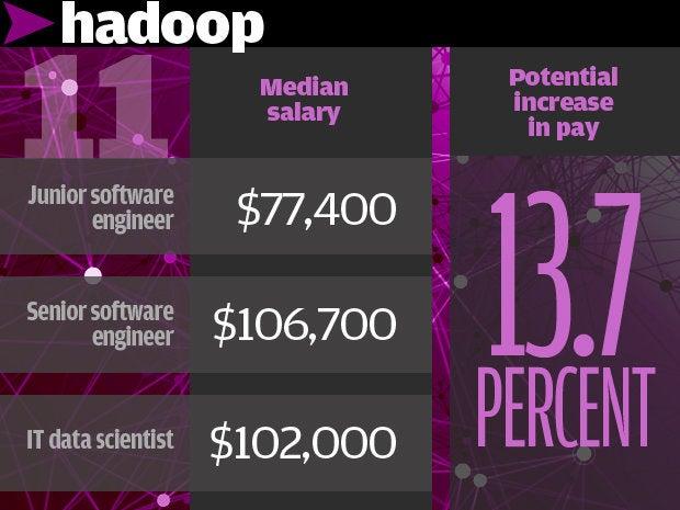 11. Hadoop 13.7%
