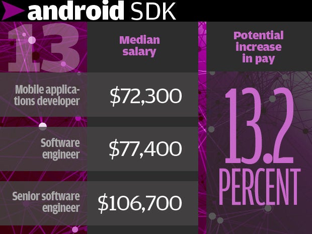 13. Android SDK 13.2%