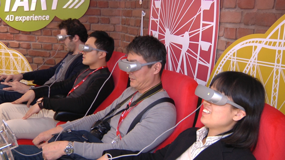 Virtual reality in action at Mobile World Congress