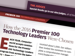 Computerworld Premier 100 Technology Leaders [2016] - Methodology