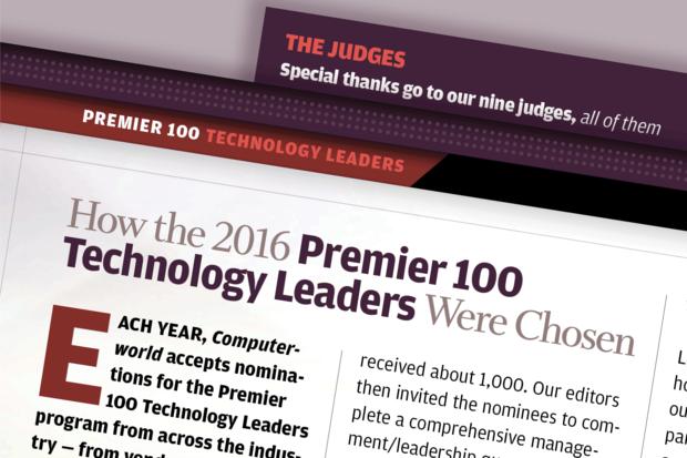 Computerworld Premier 100 Technology Leaders [2016] - Methodology