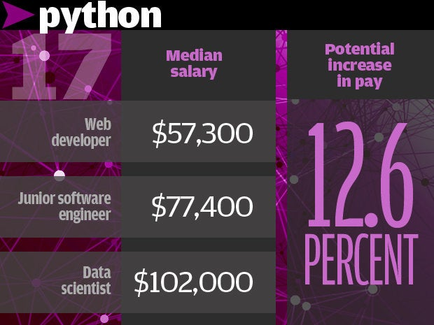 17. Python 12.6%