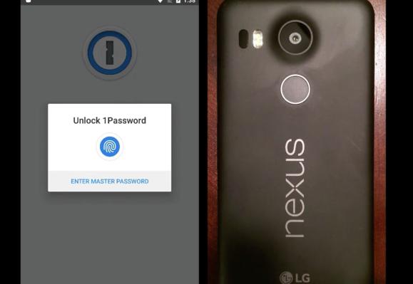 1password fingerprint unlock