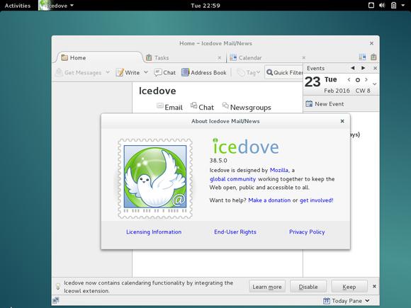 Icedove on Debian