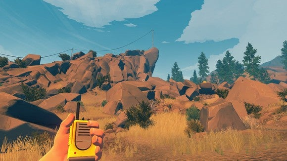 Firewatch review: Lots of smoke, but no spark | PCWorld