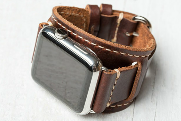 3 handmade leather band apple watch lowrycuff