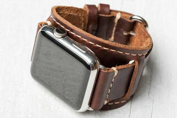 3 handmade leather band apple watch lowrycuff