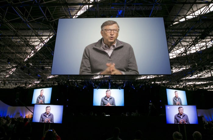 Bill Gates again is the world's richest man