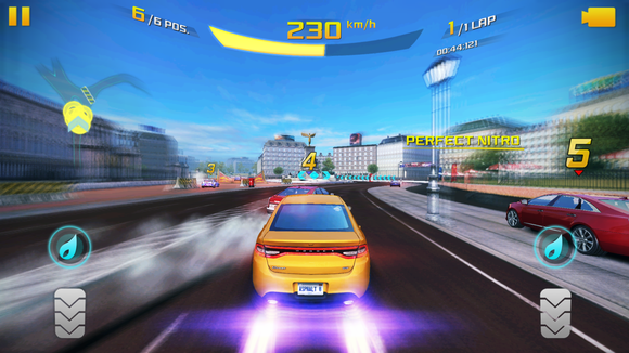 3dtouch games asphalt8
